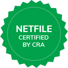 Netfile Certified by CRA icon